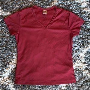 Maroon Nike shirt!
